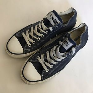 Converse Shoes - Unisex Low Top Converse in Navy
